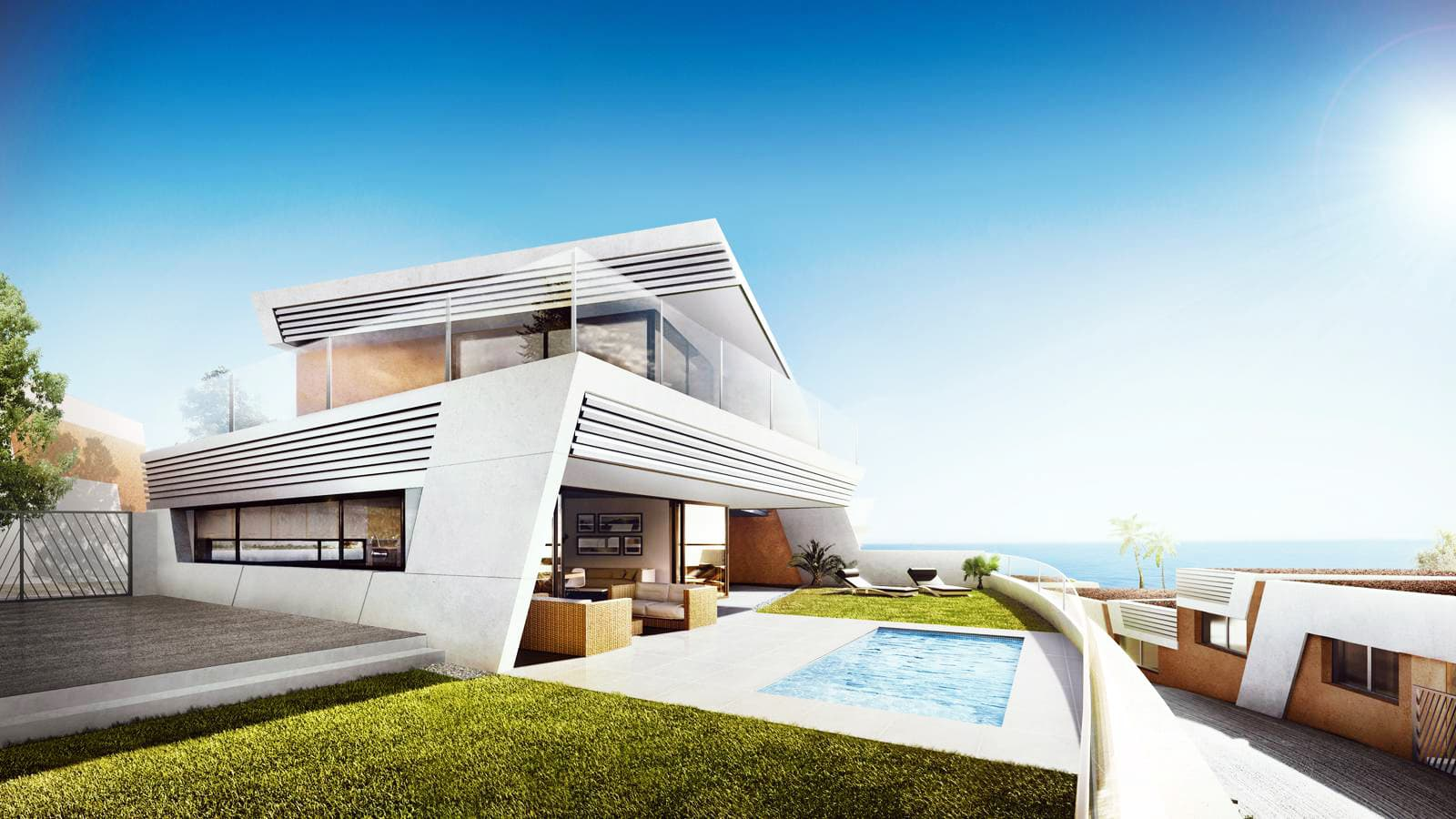 Modern Contemporary Semi Detached Houses – Mijas Costa
